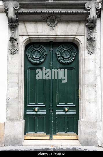 Green Door Paris Stock Photos Amp Green Door Paris Stock