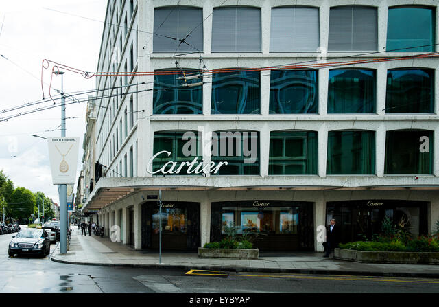 Cartier watches stock photos cartier watches stock for Jewelry stores in geneva switzerland
