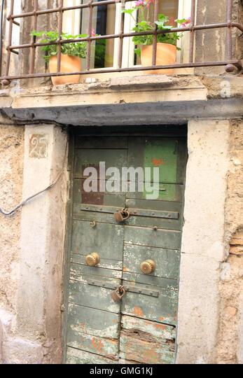 Padlocked door in Rome Italy - Stock Image & Door Padlocked Stock Photos \u0026 Door Padlocked Stock Images - Alamy Pezcame.Com