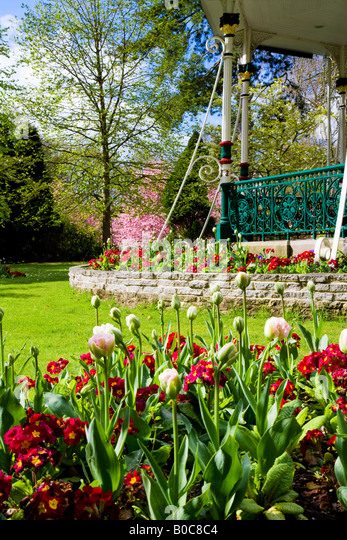 Formal Victorian Garden Design Stock Photos Formal