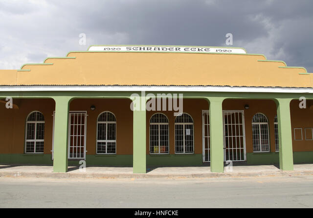 German Colonial Architecture In Namibia Stock Photos & German ...