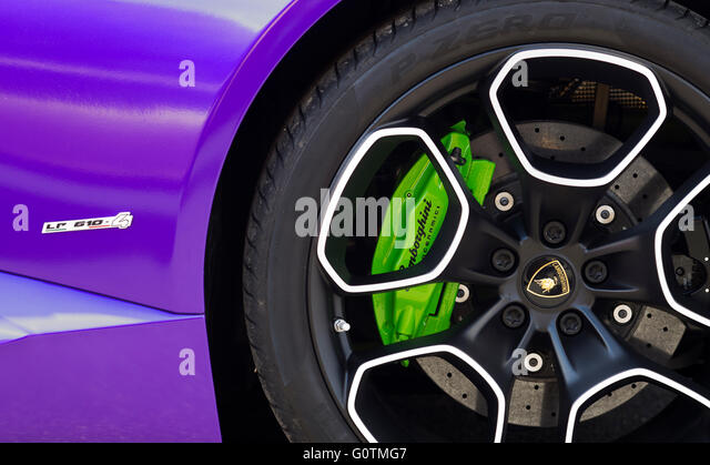 Lamborghini Huracan LP 610 Abstract. Italian Super Car   Stock Image
