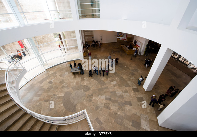 Foyer Museum Usa : Getty museum stock photos images alamy