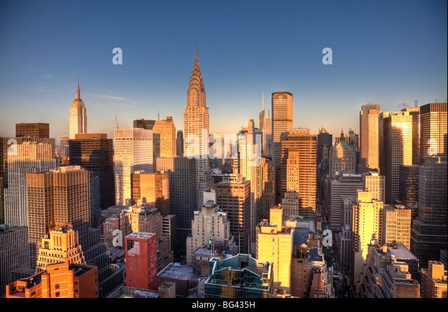 chrysler building stock photos chrysler building stock images alamy. Black Bedroom Furniture Sets. Home Design Ideas