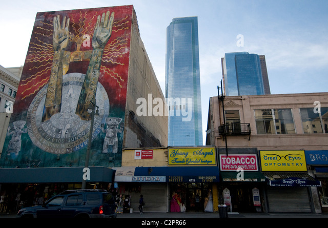 Hispanic mural stock photos hispanic mural stock images for Broadway wall mural