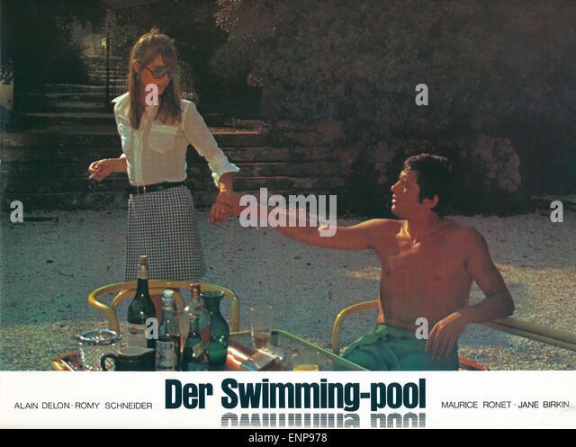 Alain delon 1969 stock photos alain delon 1969 stock for La piscina 1969