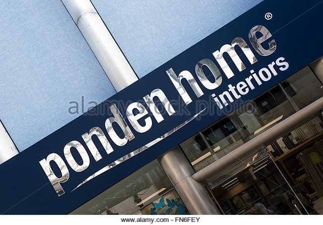 Close Up Of The Ponden Home Interiors Sign Above The Entrance Of The Poole, Part 20