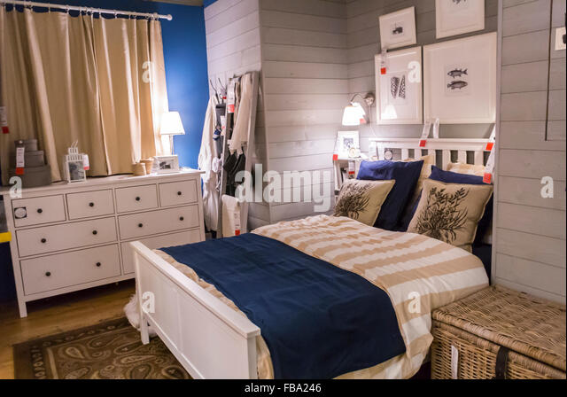 Shopping housewares furniture store stock photos for Ready to assemble bedroom furniture