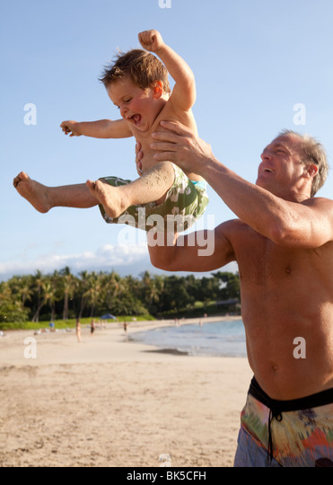 Boy In Swimsuit Playing On Stock Photos Amp Boy In Swimsuit