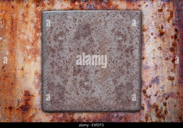 brass square plate stock photos brass square plate stock images alamy. Black Bedroom Furniture Sets. Home Design Ideas