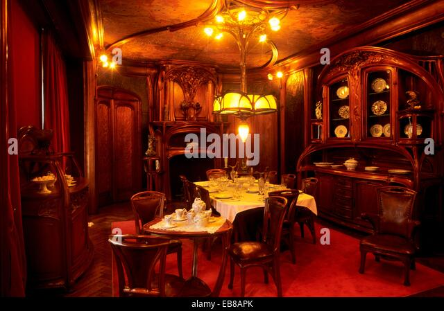 Art Nouveau Dining Room Called Masson By Eugene Vallin Musee De LEcole Nancy