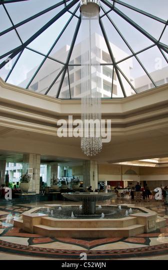 Grand Hotel Foyer : Modern hotel reception stock photos