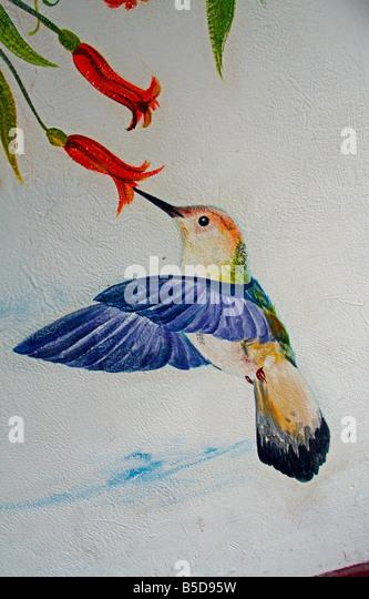 Bird Mural Stock Photos Bird Mural Stock Images Alamy