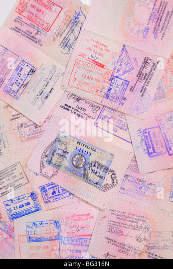 Uk Passport Stamp Stock Photos & Uk Passport Stamp Stock ...