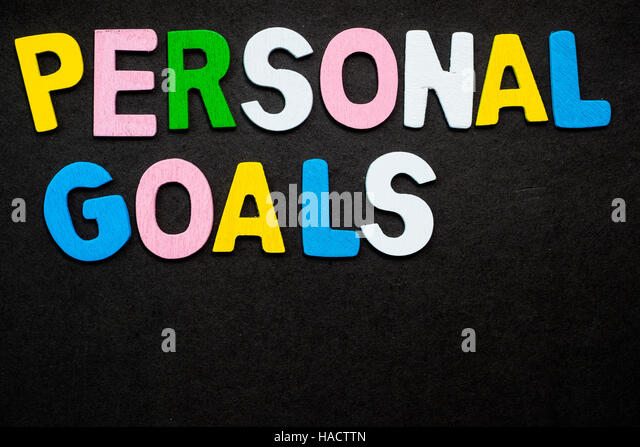 Personal Goal Setting Stock Photos & Personal Goal Setting Stock ...