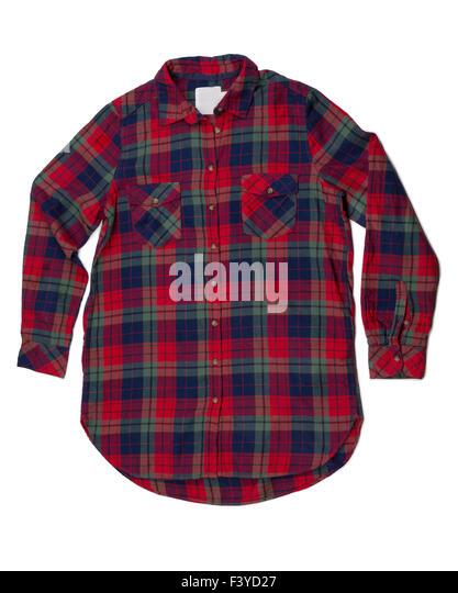 Blue plaid stock photos blue plaid stock images alamy for Red white and blue plaid shirt