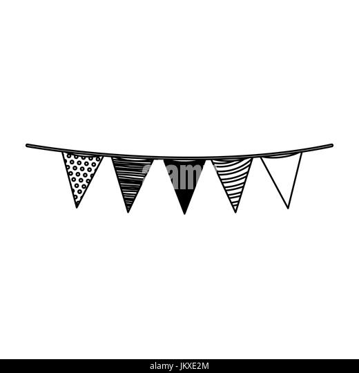 Pennants Black and White Stock Photos & Images - Alamy