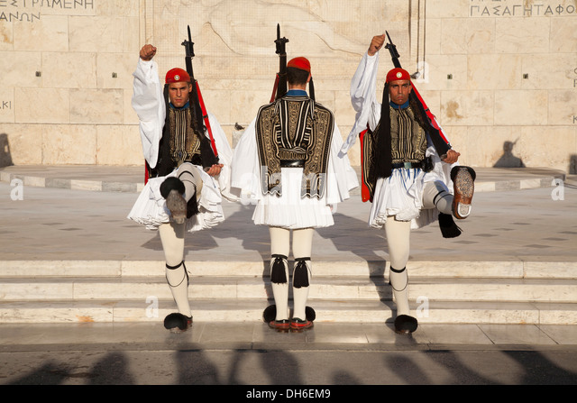 Athens Changing Of The Guard Stock Photos & Athens ...