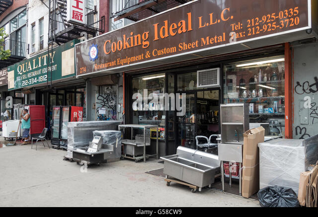 Lower east side stock photos
