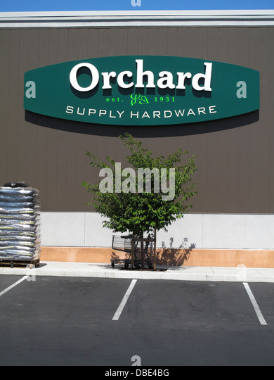 Exceptional Orchard Supply Hardware Store Sign At Princeton Plaza In San Jose,  California   Stock Image