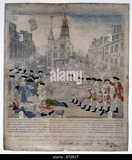 an overview of the boston massacre in 18th century Crispus attucks was the first person killed during the boston massacre man—a rarity in the 18th century when slavery was - crispus attucks biography.