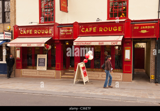 Restaurant coupons cafe rouge