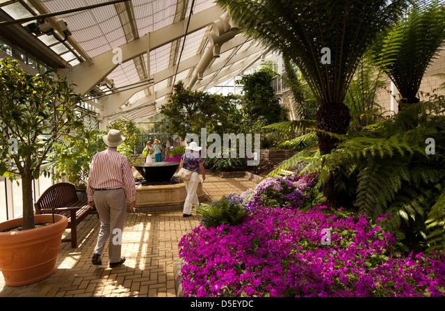 Visiting Community Garden Stock Photos Visiting Community Garden Stock Images Alamy