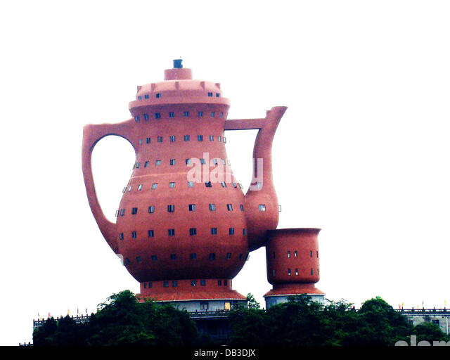 Giant Teapot A Giant Tea Pot Is Opened In Meitan Countyu0027s Lawrence Park In  China.