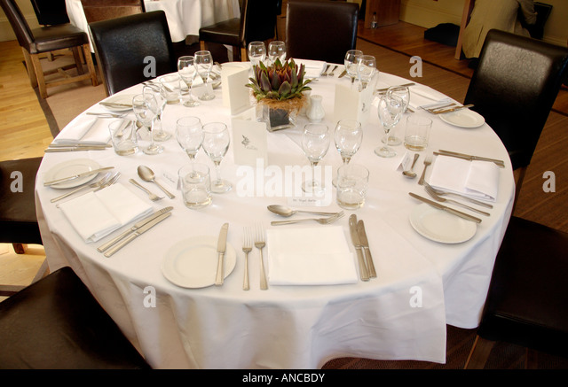 formal table settings. Formal Table Setting For Lunch In Angel Hotel During Abergavenny Food Festival Monmouthshire South Wales UK Settings