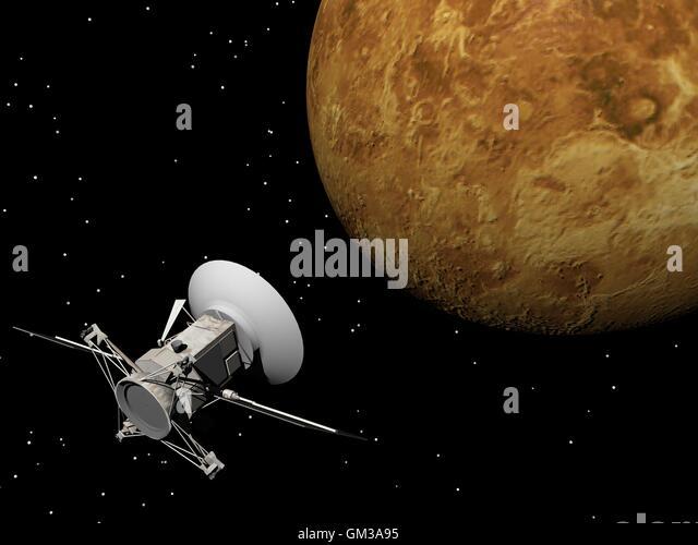 near spacecraft magellan venus mission - photo #2