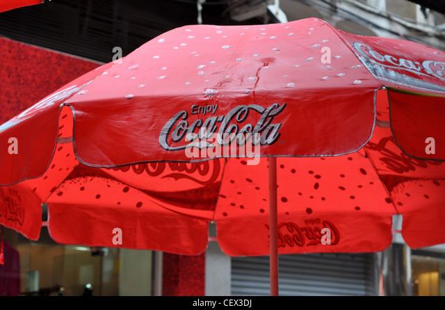 Beautiful Coca Cola Umbrella   Red Coca Cola Umbrella Stock Photos U0026 Red Coca Cola  Umbrella Stock
