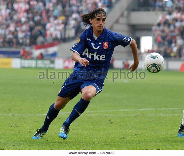 Fc Enschede Player Bryan Ruiz Stock Photos & Fc Enschede ...