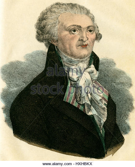 Maximilien Robespierre Stock Photos and Images