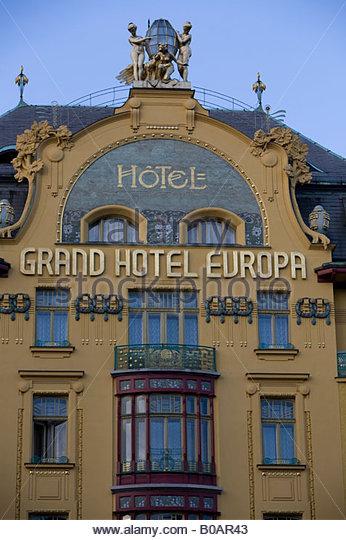 Hotel prague stock photos hotel prague stock images alamy for Europe hotel prague