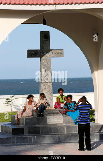 Bagamoyo Tanzania  city images : Bagamoyo, Tanzania: Place where a Cross was erected for the first time ...