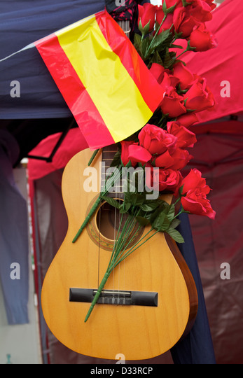 image Spanish guitar red orgy