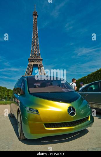 Mercedes Eiffel Tower : Daimler chrysler mercedes benz stock photos