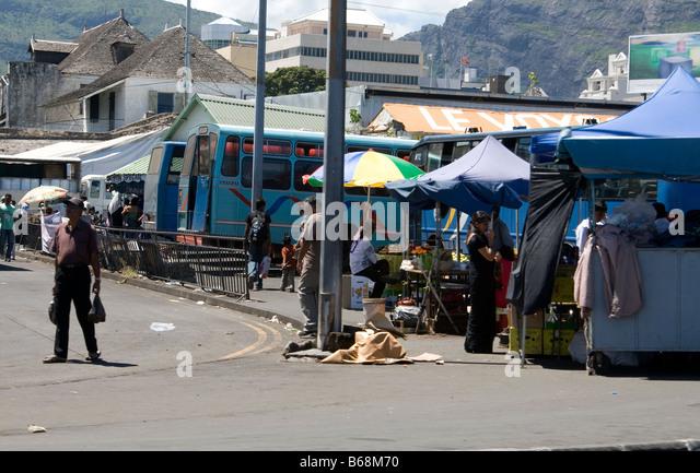 Street market mauritius stock photos street market mauritius stock images alamy - Mauritius market port louis ...