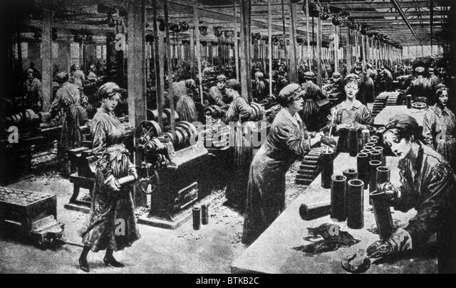 women in munitions factories In tongland, a tiny village in the south-west of scotland, at a factory dubbed the  feminist munition factory, women were making shells.