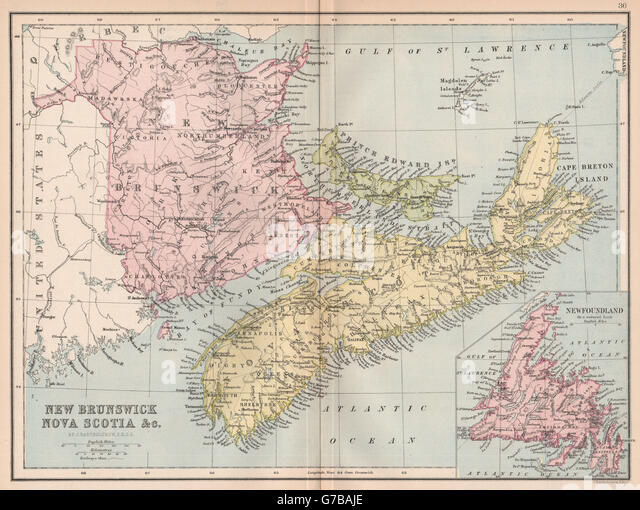 an introduction to the maritime province of new brunswick Atlantic canada includes the provinces of new brunswick, newfoundland and labrador, nova scotia, and prince edward island (figure 1a, b) newfoundland and labrador has the largest area of the four provinces, more than three times the land area of the three maritime provinces combined, and.