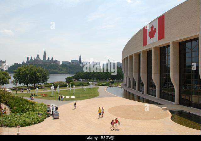 Museum of civilization quebec city stock photos museum for Quebec city museum of civilization