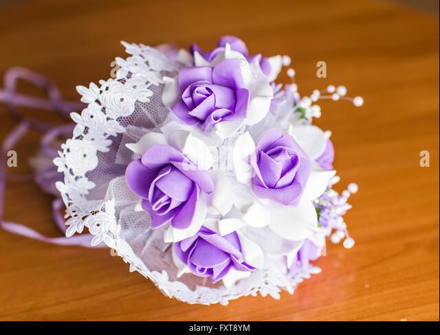 Bridal Bouquet In Mumbai : Artificial pearls stock photos