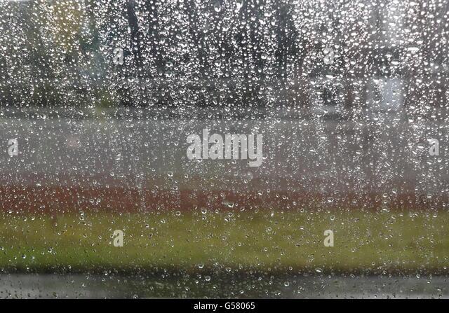 front window texture reflection slippery storm texture transparent wet window stock