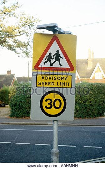 Advisory Ramp Speed Sign