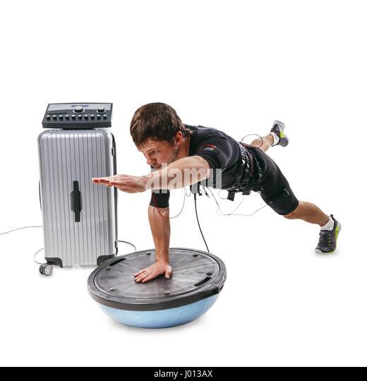 Bosu Ball Side Plank: Bosu Ball Stock Photos & Bosu Ball Stock Images