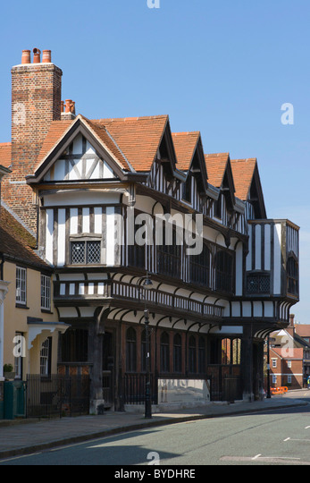 Tudor house museum st michaels square old town southampton hampshire england