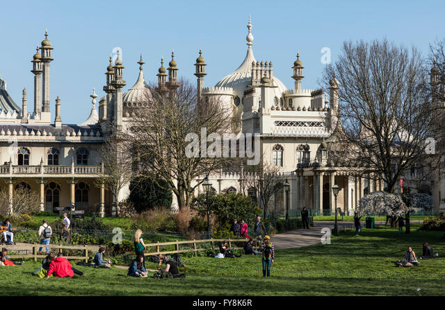 Royal pavilion gardens