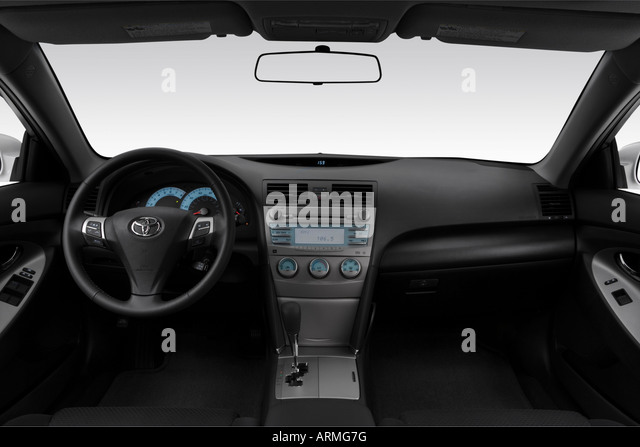 white toyota camry stock photos white toyota camry stock. Black Bedroom Furniture Sets. Home Design Ideas