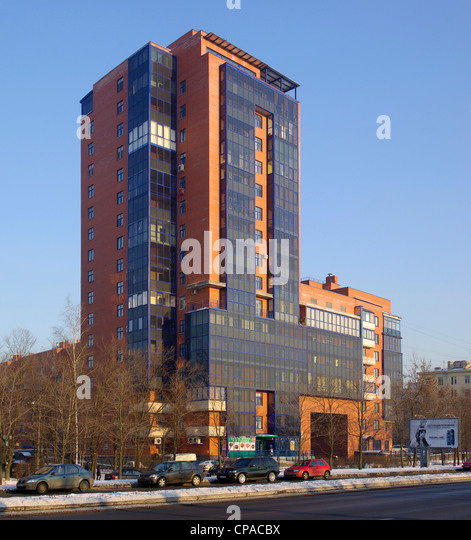 russia apartment building stock photos russia apartment building stock images alamy. Black Bedroom Furniture Sets. Home Design Ideas