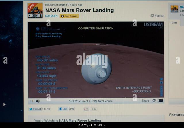 mars landing live stream uk - photo #19